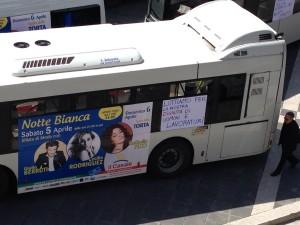 bus scat protesta