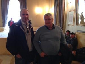 Il sindacalista Carlo Messina - UIL TRasporti con  RSA aziendale