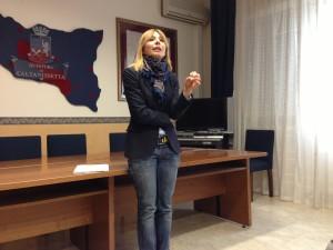 Marzia Giustolisi - capo Squadra Mobile