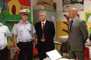 Il sindaco Modaffari con il giudice Cammarata