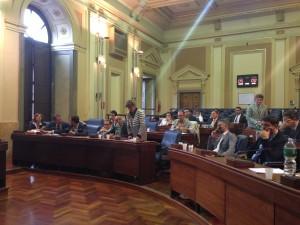 Adriana Ricotta in consiglio comunale