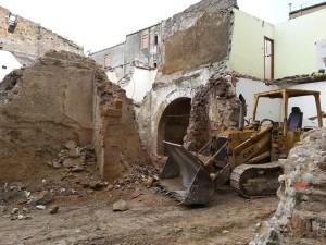 Demolizioni recenti nel Quartiere Provvidenza_2014