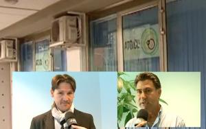 Andrea Morreale (Uil)  Michele Ferro (Cgil)