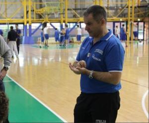 il coach Antonio Bocchino
