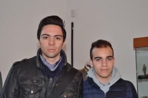 Andrea Meli e Samuel Inglese della  5ª SIA Ragionieria