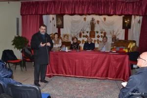 Don Salvatore ringrazia i relatori ed i presenti