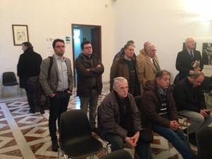 Alcuni consiglieri comunali presenti (La Rocca e Romano)