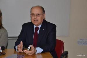 Il dr Giuseppe Giannone Presidente Rotary Club di Caltanissetta