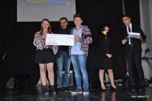 La premiazione del duo Luca De Francisci e Martina Milazzo (1)