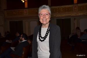 La prof.ssa Rosanna Abbate