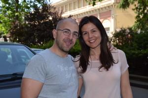 Francesco  Luca Lapaglia e la moglie Donata  Mammano
