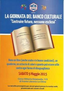 volantino Banco culturale - Acli Caltanissetta