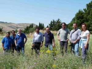 Alcuni attori della filiera dei grani antichi Siciliani dell'Hymera