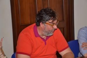 Il direttore di gara Michele Vecchio