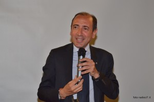 Il prof. Giuseppe Di Forti, presidente della Banca del Nisseno (2) - Copia