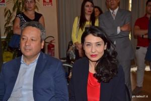 Il sindaco Giovanni Ruvolo con l'Assessore Regionale Linda Vancheri