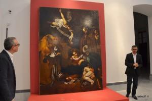 La copia della Natività con i Santi Lorenzo e Francesco d'Assisi (3)