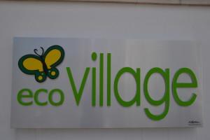 L'insegna di Ecovillage