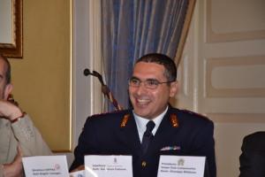 L'ispettore della Polizia di Stato Salvatore Falzone