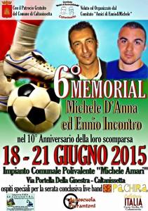 Locandina Memorial 2015