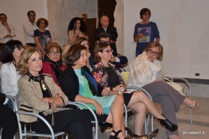 S.E. il Prefetto Maria Teresa Cucinotta, la d.ssa Giovanna Romeo,l'assessore Marina Castiglione e la d.ssa Gabriella Tomai (1)