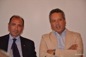 Il dott. Giuseppe Di Forti ed il sindaco Giovanni Ruvolo