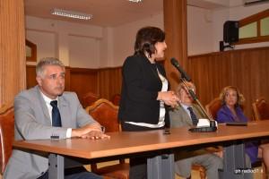 Intervente della d.ssa Maria Carmela Giannazzo, Pres. di sezione del Tribunale
