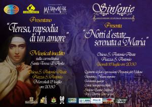 Manifesto Musical e Concerto 15 e 16 luglio