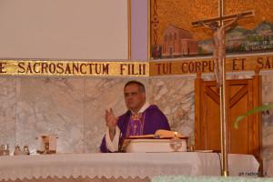 Don Salvatore Rumeo, parroco del Sacro Cuore