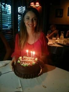Chiara Cumella, il 4 settembre, nel suo 16° compleanno
