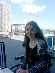 Chiara in terrazza