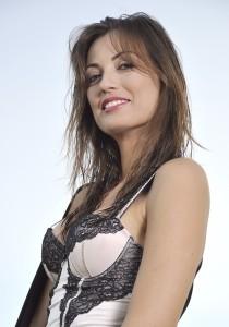 L'attrice Adriana Tuzzeo