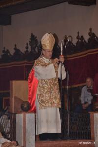 S.E. il Vescovo Mario Russotto durante l'omelia (2)