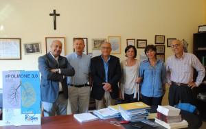 In allegato foto, da Sinistra : Michele Ferraro, Vito Parisi, Pasquale Scarantino, Milena Avenia, Filomena Paruzzo,  Giuseppe Lombardo