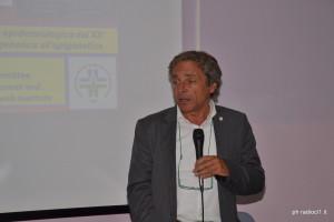 Il prof. Ernesto Burgio