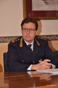 Il v.Questore dr Alessandro Milazzo