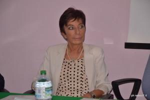 La d.ssa Marcella Santino Direttore Sqanitario ASP CL