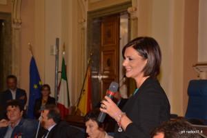 La d.ssa Rita Daniele presidente VI Commissione Sanità (1)