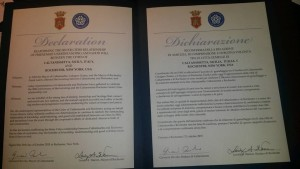 dichiarazione gemellaggio