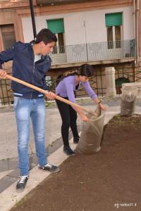 I ragazzi della IV classe dell'Istituto Tecnico Agrario di Caltanissetta (4)