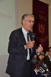 Il Rettore Magnifico dell'Università di Palermo prof. Fabrizio Micari