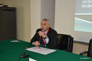 Il dr Carmelo Tonelli Responsabile della Cardiologia Osp. S. Elia