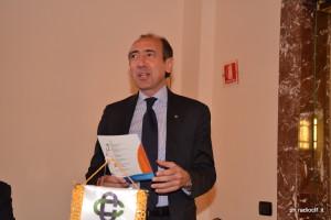 Il prof. Giuseppe Di Forti, presidente Banca del Nisseno