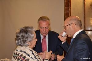 La rag. Rosalia Lo Brutto, il rag. Angelo Vitale e il dr Paolo Stern