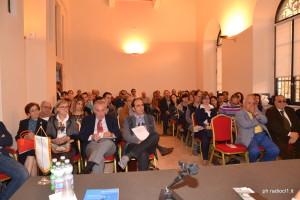 La sala conferenze della Banca del Nisseno