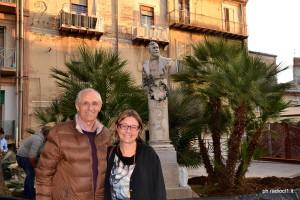 L'avv. Alfonso Gucciardo con l'assessore Marina Castiglione