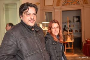 Salvatore Cammilleri e Caterina Arena