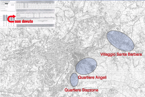 la mappa stilata dal M5S