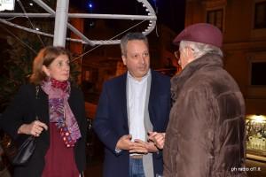 La d.ssa Marina Colasberna, il sindaco Giovanni Ruvolo e l'avv. Alfonso ucciardo