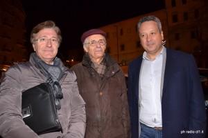 L'assessore Massimo Bellomo, l'avv. Alfonso Gucciardo e il sindaco Giovanni Ruvolo